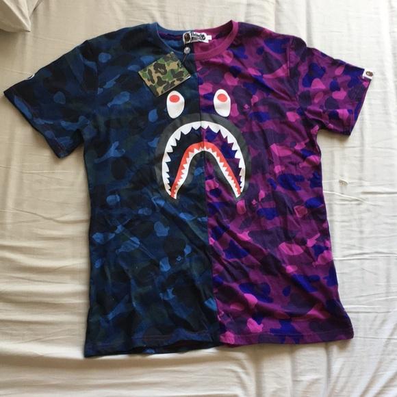 f0c45bbb Bape Shirts | Shirt Sale | Poshmark